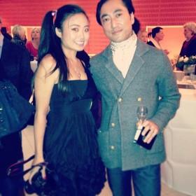 with Tetsuya Yamashita (garçon de cafe de flore).