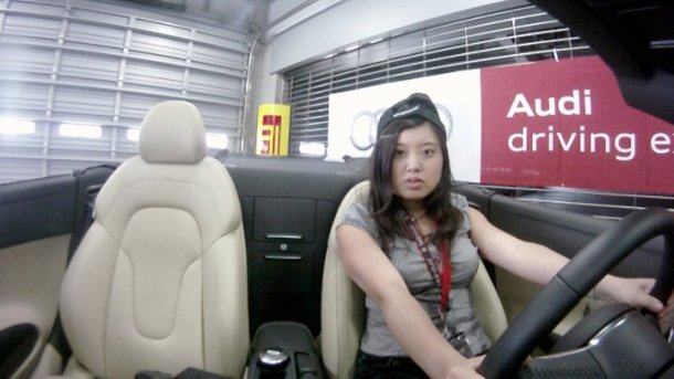 miki go pro with AUDI R8