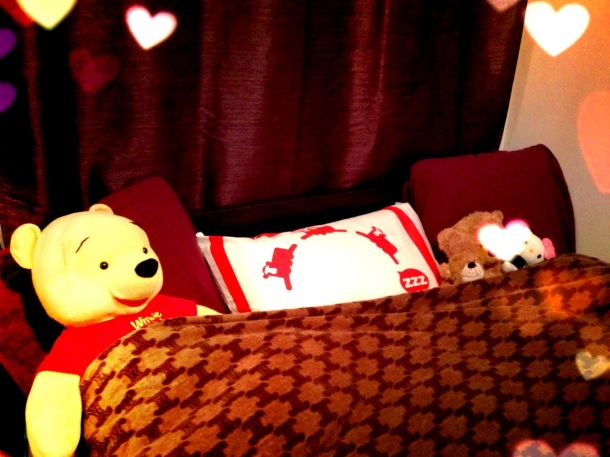 my bed with new like