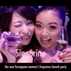 "Salvatore Ferragamo ""Signorina"" party!"