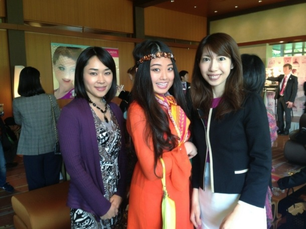 "Miki tv at ""HAPPY 150th BOURJOIS"" event!"