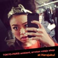TOKYO-PARIS ambient, arrston volaju shop!
