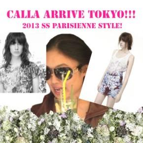"""""""CALLA"""" arrive TOKYO!!!"""