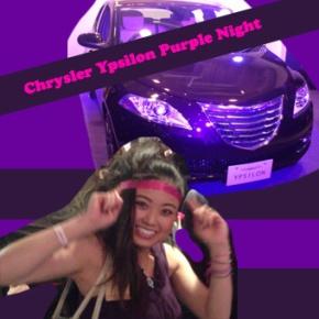 Chrysler Ypsilon Purple Night and metoo!