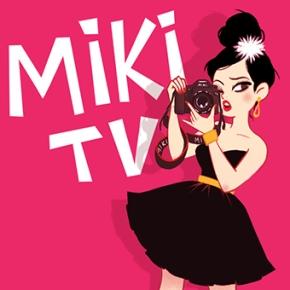 MIKI TV mascot ishere!