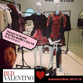 RED VALENTINO collection2013-14FW!!