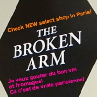 The Broken Arm, NEW BOUTIQUE recommend in PARIS!