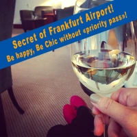 Secret of Frankfurt Airport! luxury time without Priority Pass