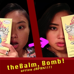 theBalm (cosmetic) arriveJAPAN!