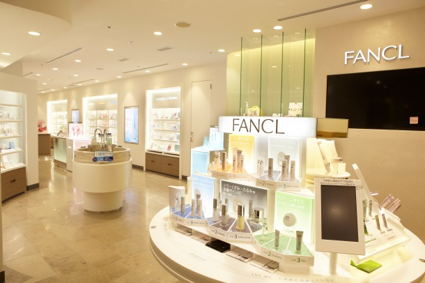 "Beauty paradise ""FANCL GINZA SQUARE"" renewal open!3F_ファンケル ビューティショップ"