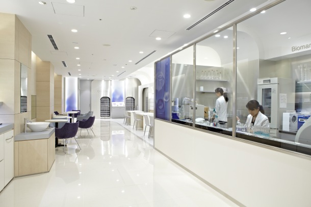 "Beauty paradise ""FANCL GINZA SQUARE"" renewal open!5F_ファンケル 未来肌研究室"