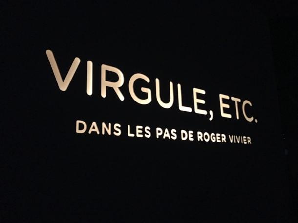 Virgule, etc. in the footsteps of Roger Vivier