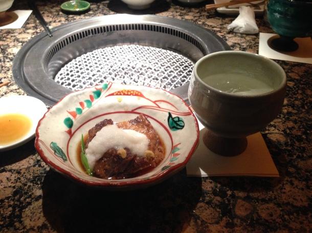 Japanese dream tasting food time at ushigoro-kan yakiniku tokyo