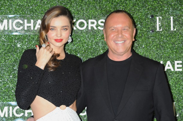 "TOKYO, JAPAN - NOVEMBER 13: Miranda Kerr and Michael Kors attend ""Michael Kors and Miranda Kerr Celebrate Elle Japon December Cover"" party (#MKTOKYO) at the Gallery of Horyuji Treasures of the Tokyo National Museum on November 13, 2013 in Tokyo, Japan. (Photo by Jun Sato/WireImage for Michael Kors) *** Local Caption *** Miranda Kerr; Michael Kors"