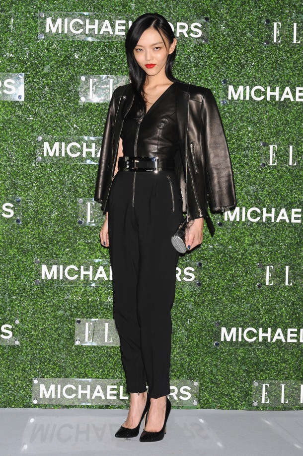 Michael Kors and Miranda Kerr Celebrate Elle Japon December Cover