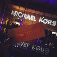 MICHAEL KORS in Japan with MIRANDA KERR