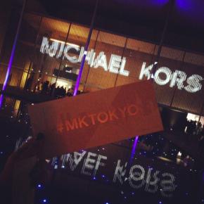MICHAEL KORS in Japan with MIRANDAKERR