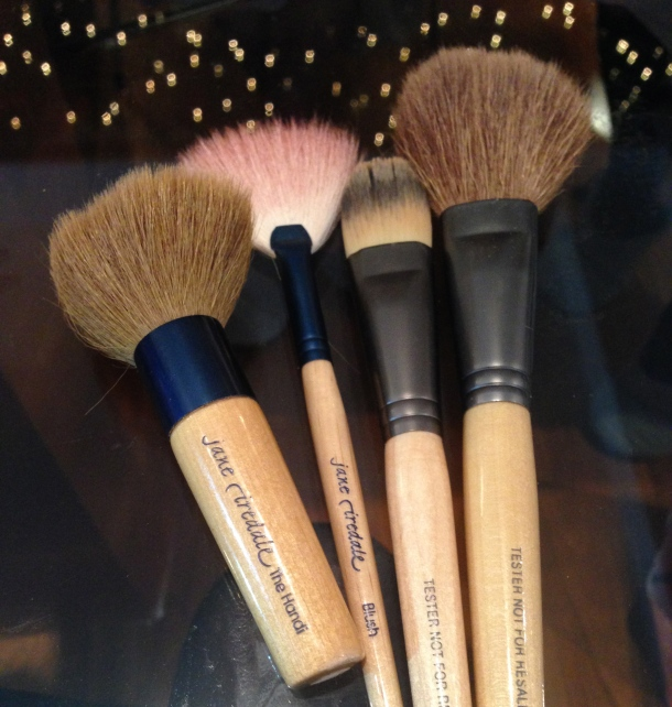 Jane Iredale Christmas cosme party