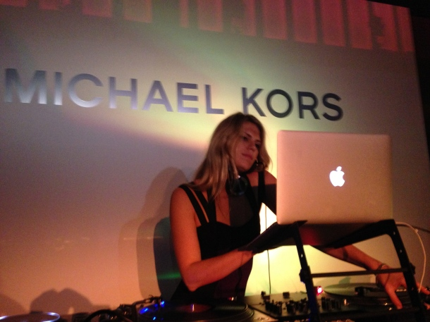 MICHAEL KORS in Japan with MIRANDA KERR Party