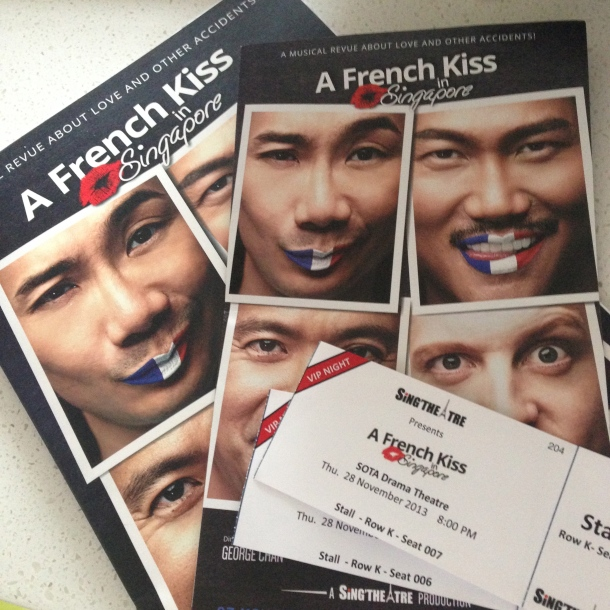 A French Kiss in Singapore