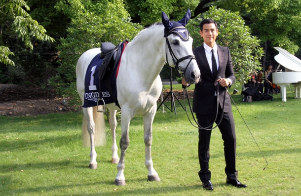 Launch of new ambassador of LONGINES11