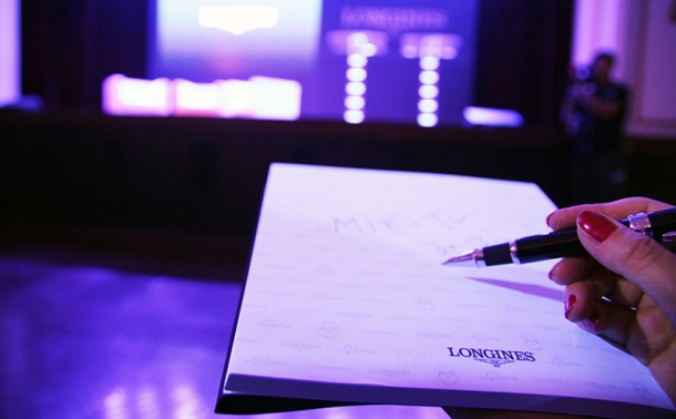 Launch of new ambassador of LONGINES8