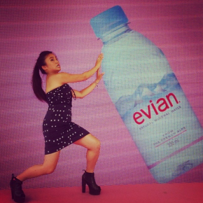 Enjoy your evian Shibuya World!
