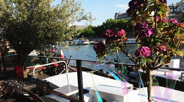 SUMMER PRIVATE PARTY on the boat parisien1