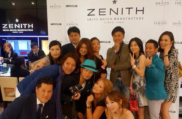 ZENITH x MEN'S CLUB NIGHT7
