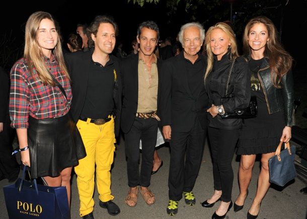 RALPH LAUREN Presents POLO for Women, Fashion Event in Central Park?