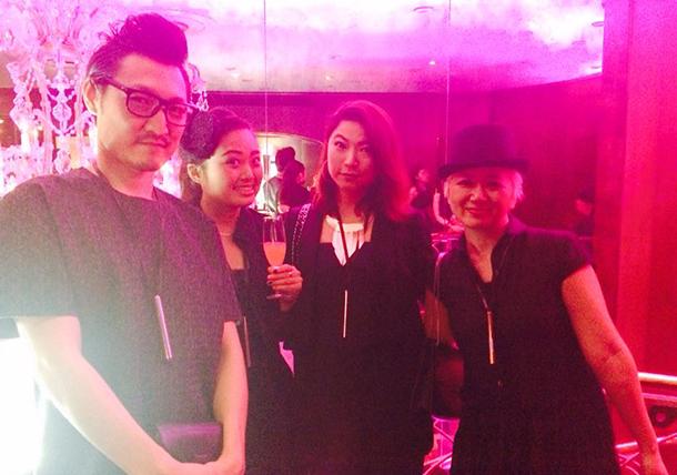 Pink night at YSL Beauty salon