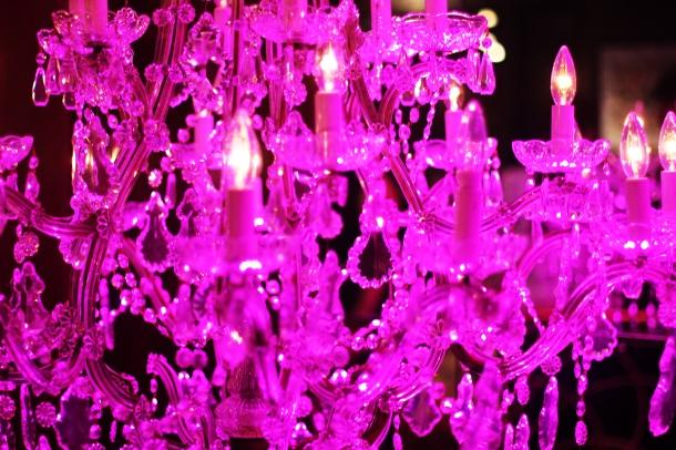 Pink night at YSL Beauty salon11