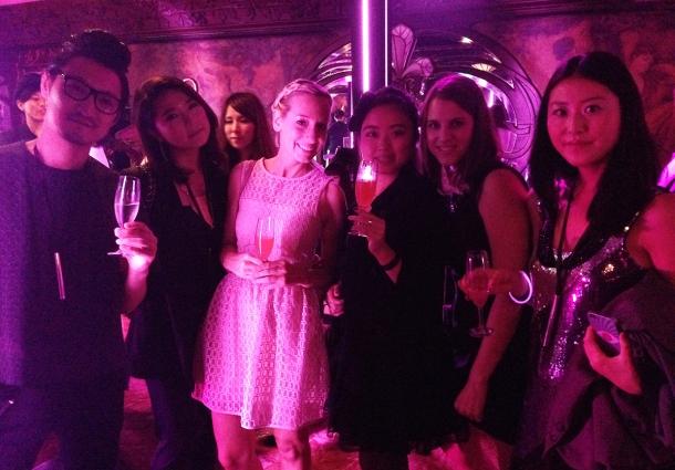 Pink night at YSL Beauty salon16