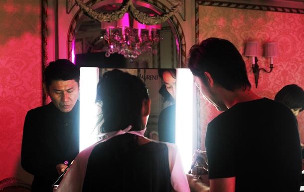 Pink night at YSL Beauty salon18