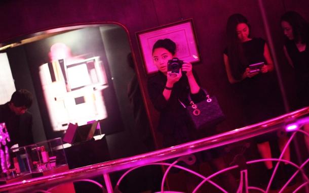 Pink night at YSL Beauty salon20