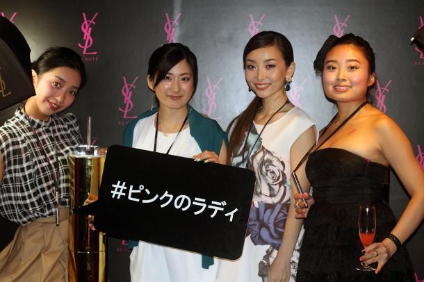 Pink night at YSL Beauty salon21