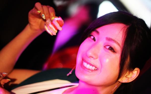 Pink night at YSL Beauty salon2inuiayumi