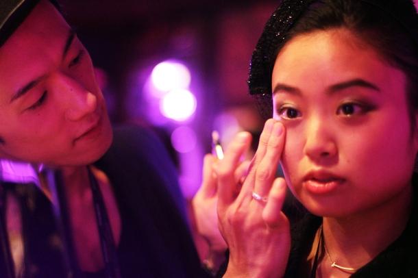 Pink night at YSL Beauty salon3