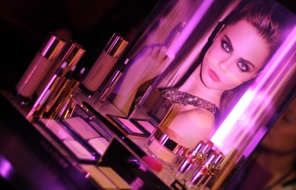 Pink night at YSL Beauty salon6
