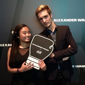 ALEXANDER WANG X H&M shopping party