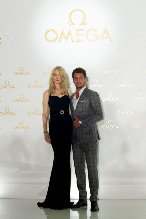 Nicole Kidman and Bastian Baker