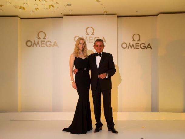 Nicole Kidman and OMEGA President