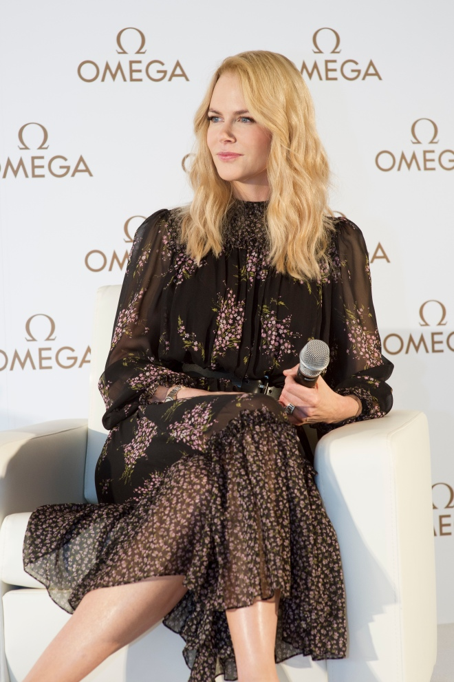 Nicole Kidman_OMEGA Press conference Seoul_1
