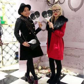 Alice + Olivia Omotesando shop 1stAnniversary