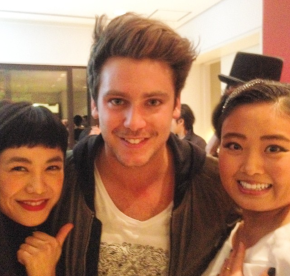 So lovely! Bastian Baker Japan tour 2014