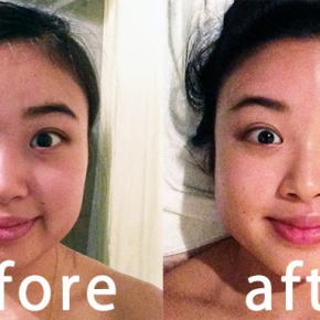 face care at salonHO'ME