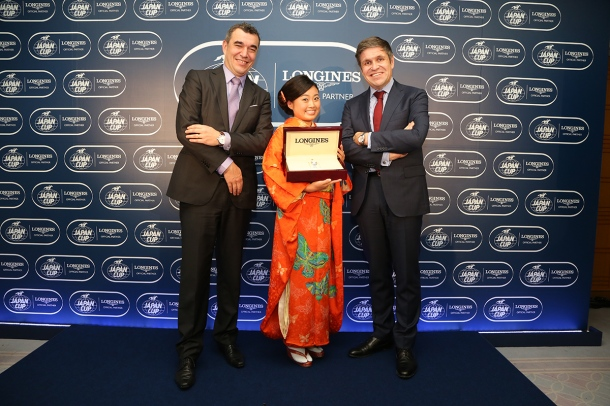 LONGINES Elegance Prize for the KIMONO miki2