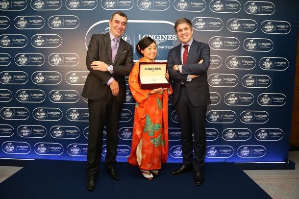 LONGINES Elegance Prize for the KIMONO miki2