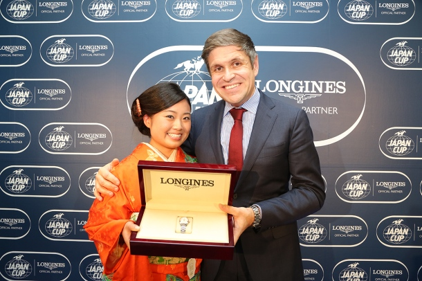 LONGINES Elegance Prize for the KIMONO miki5