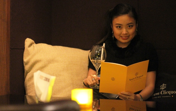 VEUVE CLICQUOT CHAMPAGNE BAR at Andaz Tokyo3